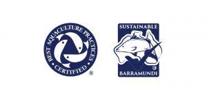 Barramundi certification logos