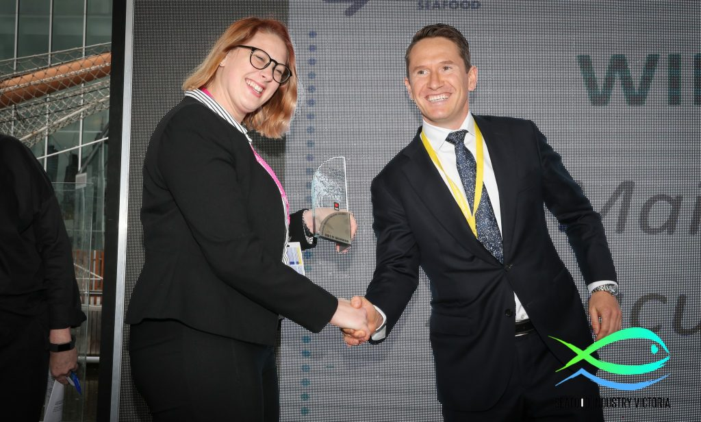 MainStream Aquaculture wins Large Seafood Business of the year award at National Seafood Industry Awards